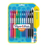 Paper Mate® InkJoy® 300RT Retractable Ballpoint Pens, Medium Point, Assorted, 24/pk (1945926)