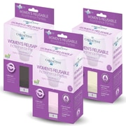 Care Active Ladies Reusable Incontinence Panty 6oz Assorted Colors Small 3-Pack (2465-1A-AST)