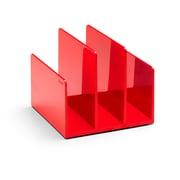 Poppin Fine File Sorter, Red (102744)