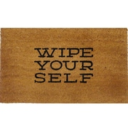 US Decor Wipe Yourself Chat Mat