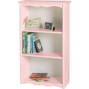 Little Colorado Traditional Child's 40'' Bookcase; Soft Pink