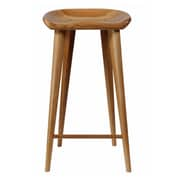 Vandue Corporation Tractor 29'' Bar Stool (Set of 2); Walnut