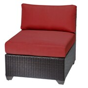 TK Classics Side Chair; Terracotta