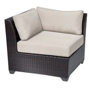 TK Classics Barbados Corner Chair (Set of 2); Beige