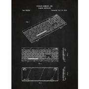 Inked and Screened Tech and Gadgets 'Corsair Gaming Keyboard' Silk Screen Print Graphic Art