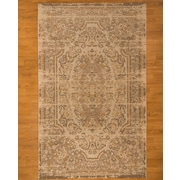 Natural Area Rugs Beige Area Rug; 6' x 9'