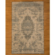 Natural Area Rugs Blue/Beige Area Rug; 5' x 8'