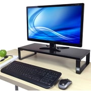 Stand Steady 4.5' H x 23.5'' W Desk Monitor Stand