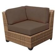 TK Classics Laguna Side Chair (Set of 2); Cocoa