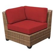 TK Classics Laguna Side Chair (Set of 2); Terracotta
