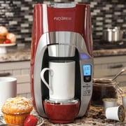 Hamilton Beach FlexBrew Programmable Single-Serve Coffee Maker; Red