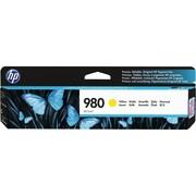 HP - Cartouche d'encre originale 980 jaune (D8J09A)