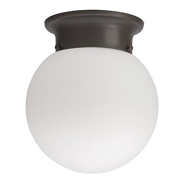 Lithonia Lighting Globe 1-Light Flush Mount