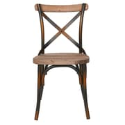 Joseph Allen Side Chair; Antique Copper