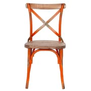 Joseph Allen Side Chair; Orange