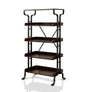 Hokku Designs Newman 59.25'' Bookcase; 59.25'' H x 26'' W x 20.75'' D
