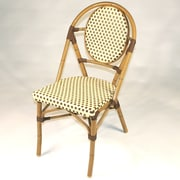 Infinita Corporation French Bistro Armless Stacking Chair (Set of 6); Brown