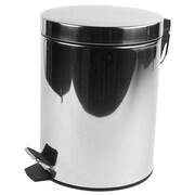 Geesa by Nameeks Standard Hotel 0.79 Gallon Step-On Metal Trash Can