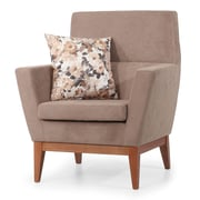 Winport Industries Club Chair; Beige