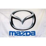 NeoPlex Mazda Auto Logo Words Traditional Flag