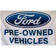 NeoPlex Ford Pre Owned Vehicles Auto Logo Traditional Flag