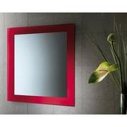 Gedy by Nameeks Maine Vanity Mirror; Red