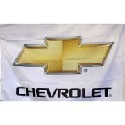 NeoPlex Chevrolet Auto Logo w/ Words Traditional Flag