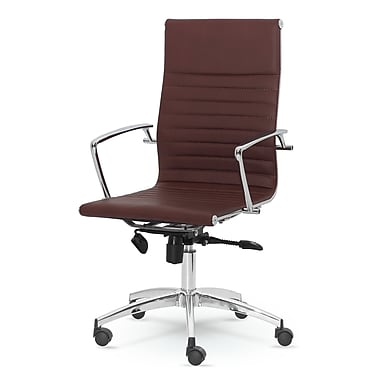 Winport Industries Dynamic Desk Chair Brown Staples