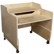 Contender Plywood Adjustable Height Student Computer Desk