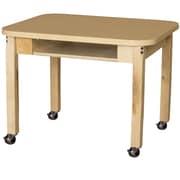 Wood Designs Laminate 26'' Open Front Desk