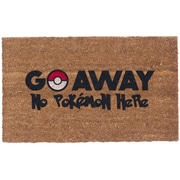 Coco Mats N More Colored Pokemon Go Away Doormat