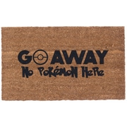 Coco Mats N More Pokemon Go Away Doormat