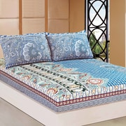 Tache Home Fashion Paisley Monarch Fitted Sheet Set; Twin