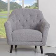 Gold Sparrow Aurora Barrel Chair; Ash