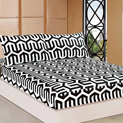 Tache Home Fashion Sophisticated Condo Fitted Sheet Set; Twin (WYF078279279215) photo