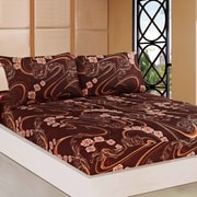Tache Home Fashion Melted Fitted Sheet Set; Twin