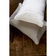 Brunelli Amore Cotton Throw Pillow; Gray
