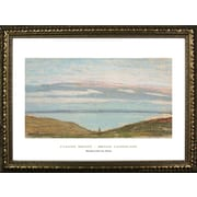 Buy Art For Less Museum Masters 'Broad Landscape' by Claude Monet Framed Painting Print
