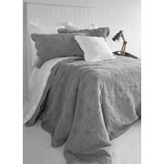 Brunelli Organic Cotton Throw Pillow; Gray