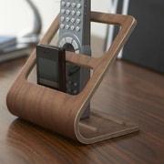 Yamazaki USA Rin Remote Control Organizer Rack; Brown