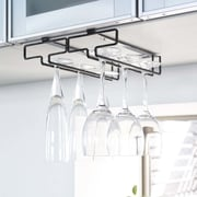 Yamazaki USA Tower Hanging Wine Glass Rack; Black