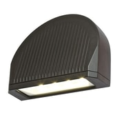 DALSLighting 70W LED Directional Arch Outdoor Wall Lighting; Bronze