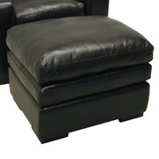 Wildon Home   Leather Ottoman