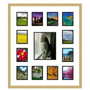 Frames By Mail Collage Picture Frame; Gold