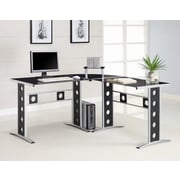 Wildon Home   Hartland L-Shape Executive Desk