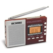 U.S. Patrol JB7360 Digital Worldwide Radio Red Digital 9 band