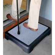 "North American Health + Wellness 4"" Plastic and fabric  Non-Slip Outdoor Step Step (JR5919)"