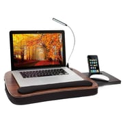 Sofia + Sam Lapdesk with USB Light and Tablet Slot Black (5016)