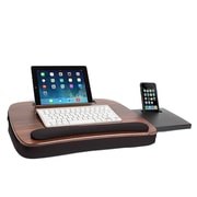 Sofia + Sam Multi-Tasking Lapdesk with Tablet Slot Wood Top (5012)