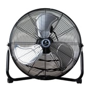 "TPI 20"" Commercial Floor Fan, Stainless Steel (CF20)"